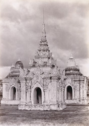 Masonry shrines in the Kuthodaw Pagoda, [Mandalay]